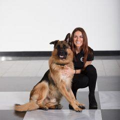 Tatjana Zorko<br>Prokuristin<br>Firmenhund Vuko